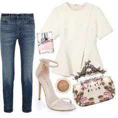 Untitled #2048 by moria801 on Polyvore featuring Alexander Wang, Alexander McQueen and HUGO