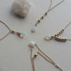 Ethiopian Opals by Gaby Marcos Atelier Gems Jewelry, Fine Jewelry, Opal, Pearl Necklace, Delicate, Pearls, Instagram Posts, Handmade, Frames