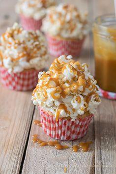 Cupcakes de palomitas dulces