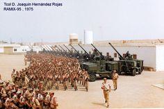 Spanish troops,air defense unit, Western Sahara, 1975.