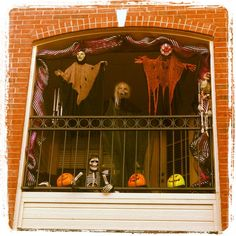 Halloween Time On The Balcony!