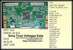 Professional Repairing Of LCD LED Plasma TV With Training Guide Software's And Troubleshooting Tricks. Sony Lcd, Sony Led Tv, Electronic Circuit Projects, Electronics Projects, Diy Electronics, Lcd Television, Tv Panel, Tv Display, Electronic Schematics