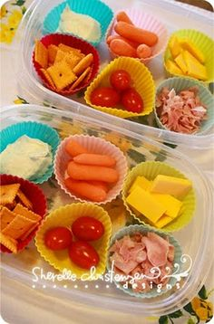 Good idea for preschool lunch I like the little sliced up Hams I wouldn't be worried about her choking shoving the whole piece in her mouth!