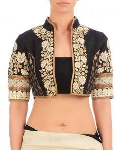Jacket style blouse