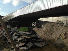 Construction Rotterdam Central Station