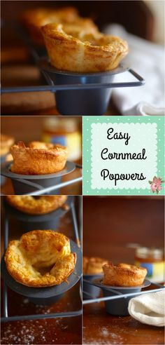 These easy cornmeal popovers are crispy perfection. Every. Single. Time. From…