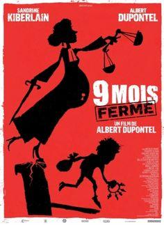 9 MOIS FERME, un film d'Albert Dupontel avec Sandrine Kiberlain, Nicolas Marié, Philippe Uchan et Albert Dupontel. En salles le 16 octobre 2013. J'ai vraiment ri aux éclats 3 ou 4 fois pendant ce film. 2 excellents acteurs et bien sûr le personnage joué par A. Dupontel est très attachant.
