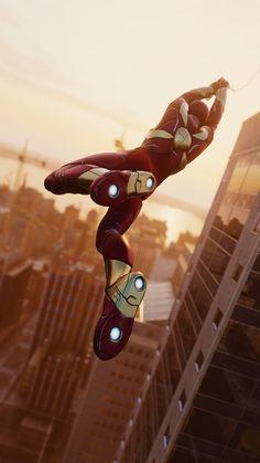 The Iron Spider Armor, gosh darn amazing Marvel Comics, Marvel Heroes, Marvel Avengers, Baby Marvel, Spiderman Marvel, Marvel Funny, Spiderman Spider, Amazing Spiderman, Marshmello Wallpapers
