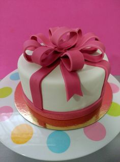 Modelo de tarta que se hizo en el curso de adultos