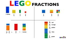 Teach Kids Fractions with Lego