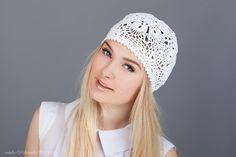 Summer hat Flower hat  Ladies hat Ladies by NataliaYakimenko