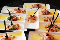 Ceviche served at the South Beach food tour by Miami Culinary Tours
