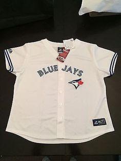 MLB Toronto Blue Jays  Toddler/Youth Button Down Jersey  www.mancavesonline.com