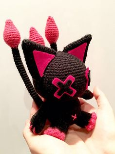Ravelry: Deadly cat (kawaii) pattern by Anna Carax