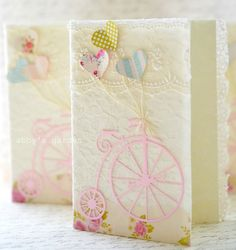 Super sweet cards!  Abby's Paperie Garden