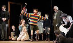 Goodnight Mr Tom at the Phoenix Theatre William Price, Ewan Harris, Oliver Ford Davies and Elisa De Grey © Catherine Ashmore #london #theatre