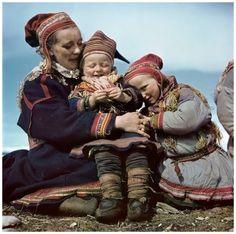 Lapon Family Norway 1951  Photo Robert Capa