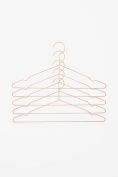Metal coat hangers