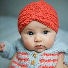 Baby hat and jacket