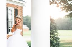 How stunning is this bride? Country Chic, Chic Wedding, Weddings, Bride, Wedding Dresses, Fashion, Bridal Dresses, Moda, Bridal Gowns