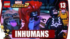 LEGO MARVEL SUPER HEROES 2  ODCINEK 13 INHUMANS #games #lego #marvel