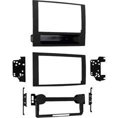 Metra - Dash Kit for select 2007-2008 Dodge Caliber and Jeep Compass/Patriot vehicles - Matte black