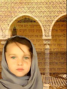 Little girl in Jerusalem
