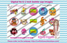 1' Bottle caps (4x6) Moshi monsters BCI-258  CARTOONS/KIDS BOTTLE CAP IMAGES #cartoons #inspired #kids #bottlecap #BCI #shrinkydinkimages #bowcenters #hairbows #bowmaking #ironon #printables #printyourself #digitaltransfer #doityourself #transfer #ribbongraphics #ribbon #shirtprint #tshirt #digitalart #diy #digital #graphicdesign please purchase via link  http://craftinheavenboutique.com/index.php?main_page=index&cPath=323_533_42_54