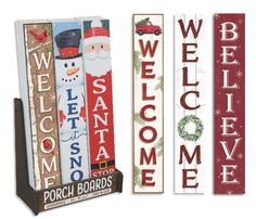 Porch Boards™ from My Word!® are 100% weatherproof! They're the hot new home accessory consumers want. My Word!® offers 200+ Porch Board™ designs, all Made in the USA and ship quickly. Order today-New Holiday styles just added. Click here to see our latest styles. www.mywordsigns.com {Sponsored}