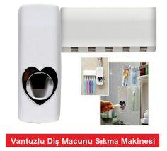 Vantuzlu Diş Macunu Sıkma Makinesi İsrafa Son ::
