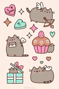 Iphone Wallpaper - Pusheen