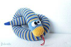 Podarёnka: Big crochet snake for little kids