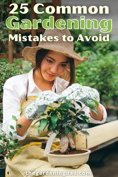 Learn 25 Common Gardening Mistakes to Avoid with this Ultimate Guide to Beginning Gardening! Perfect for anyone who wants to save time, money, and energy gardening! #thegardeningdad #garden #gardenideas Bountiful Garden, Container Flowers, Lawn And Garden, Garden Inspiration, Vegetable Garden, Indoor Plants, Gardening Tips, Mistakes, Nature