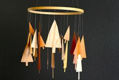 Wood Veneer Trees: Mobiles, Ornaments, + More You Are My Fave