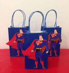 Hey, I found this really awesome Etsy listing at http://www.etsy.com/listing/151228457/12-superman-favor-bags