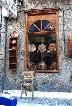 Bakery window ~ Koroni, Peloponnese