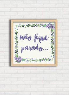 Poster/ quadro para quarto feminino