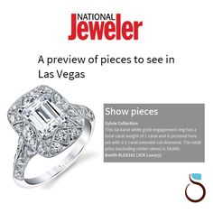 "National Jeweler touts Sylvie's Vintage Collection as a ""must see"" at JCK Vegas! We were thrilled to learn that National Jeweler did a spotlight feature on Sylvie's Vintage Collection for this week's upcoming JCK Show in Las Vegas."
