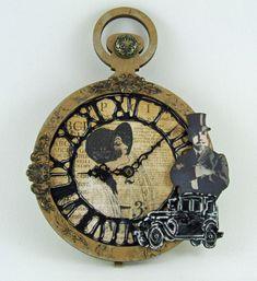 Steam Punk Clock at Creative Inspirations