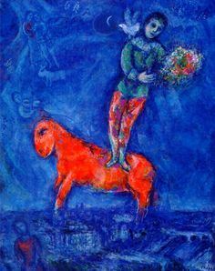 Child with a Dove - Marc Chagall