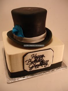 Top hat Cake by Apple-Butter Bakery, via Flickr