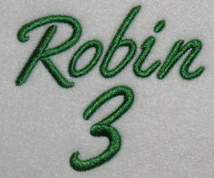 Athletic Script Embroidery Font   Apex Embroidery Designs, Monogram Fonts & Alphabets
