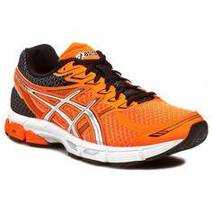 Félcipő ASICS - Gel-Phoenix 6 T420N Flash Orange/Silver/Black