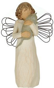 Willow Tree Angels have a special place in my heart and in my home.