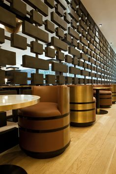Monaco-based architecture studio Humbert & Poyet have designed the interior for Beef Bar in Mexico City and Monaco. The studio was started byEmil Humbert and Christophe Poyet and have taken bo…