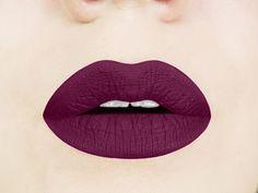 black cherry lip swatch
