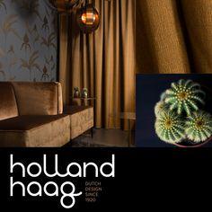 Holland Haag - Dutch Design since 1920 Curtain Fabric, Curtains, Holland, Room Decor, Lights, Living Room, Inspiration, Design, Lush