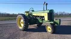 1958 John Deere 730 Ag Farm Tractor Electric Start Diesel Engine Machine 65HP