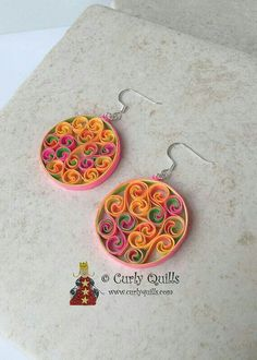 paper jewellery,elegant design, paper quilling,Google serch result,paper earring