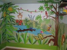 baby room jungle